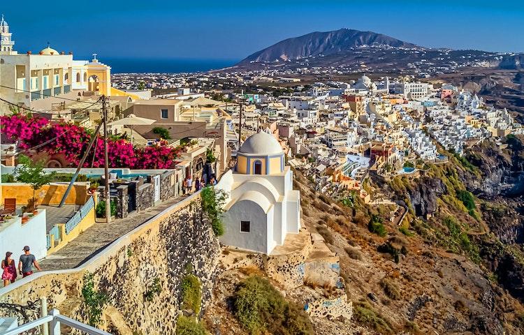 imerovigli - Greece Naxos & Santorini Private Adventure