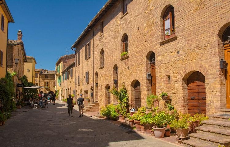 pienza - Italy Tuscany and Umbria Walking