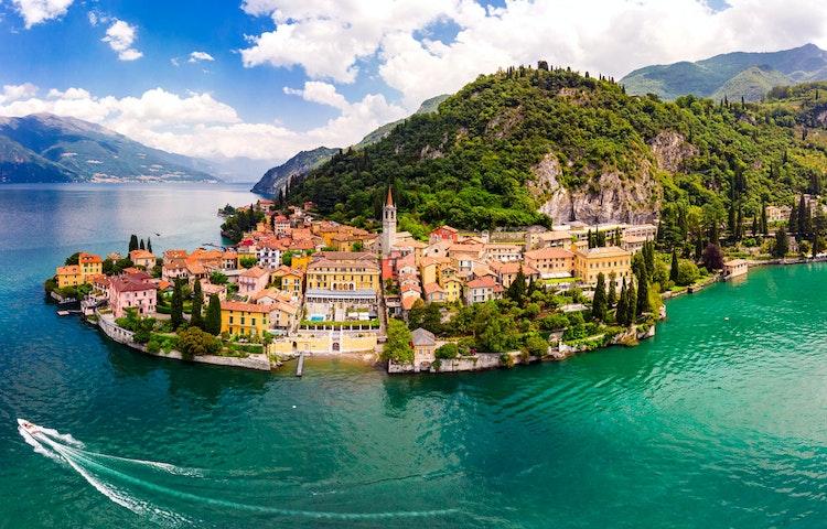 varenna - Italy and Switzerland Lake District Hiking