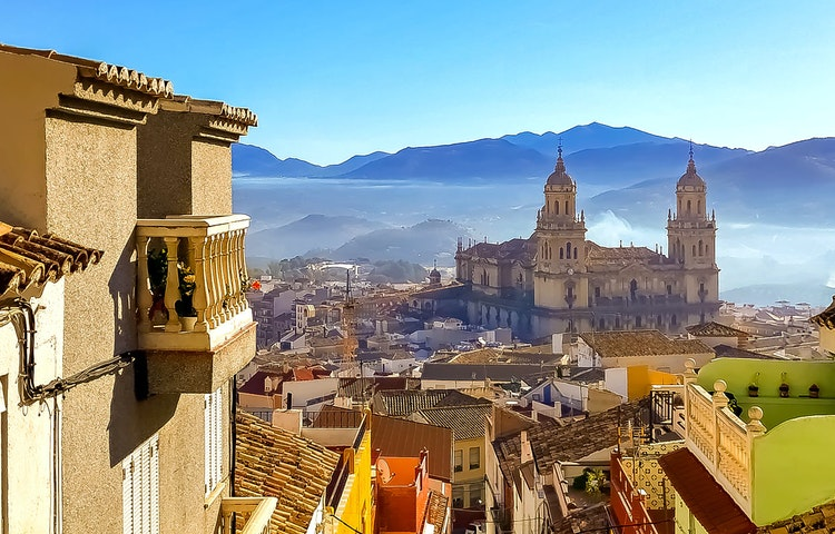 jaen view - Spain Best of Andalucia Hiking