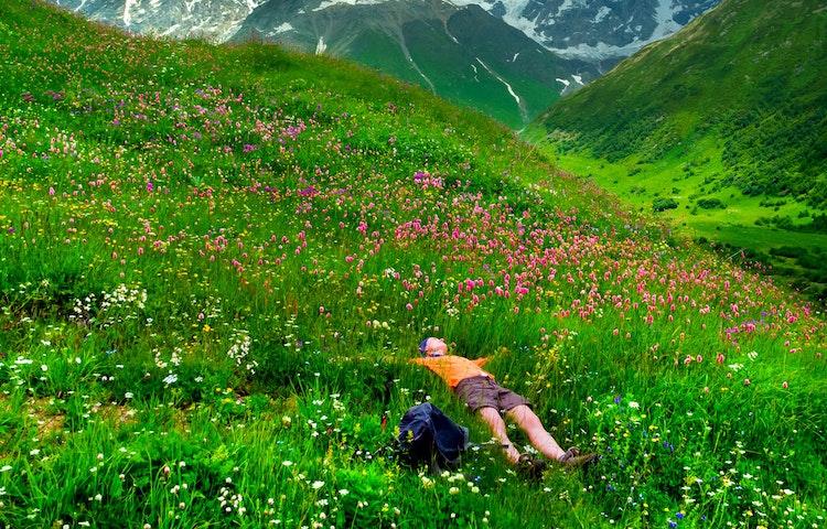 relaxing - Alps Chamonix & Zermatt Hiking