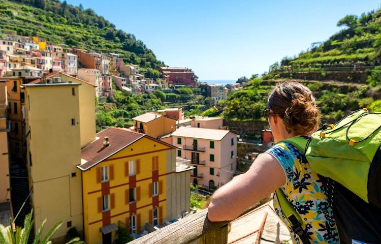 cinque hiker - Italy Tuscany and Cinque Terre Walking
