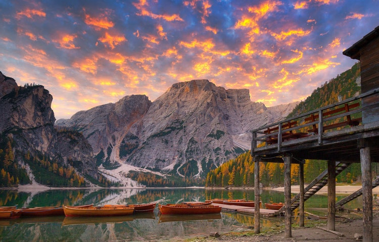 braies - Italy Heart of the Dolomites Hiking