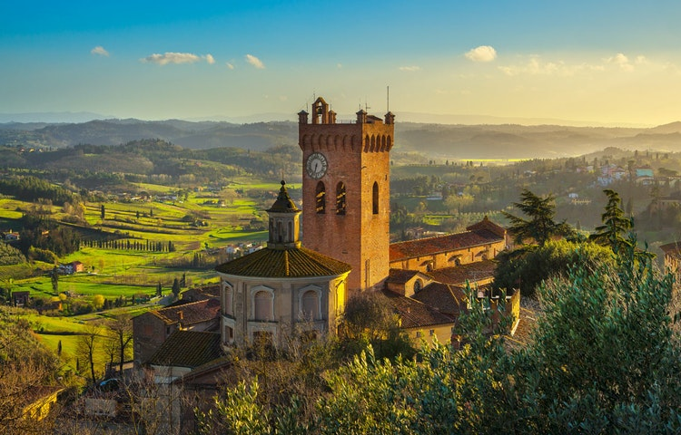 miniato - Italy Tuscany and Cinque Terre Walking