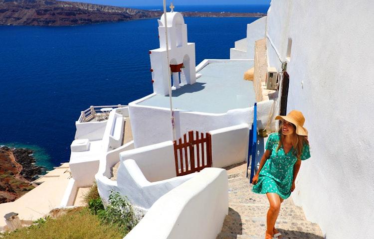 hat - Greece Naxos & Santorini Private Adventure
