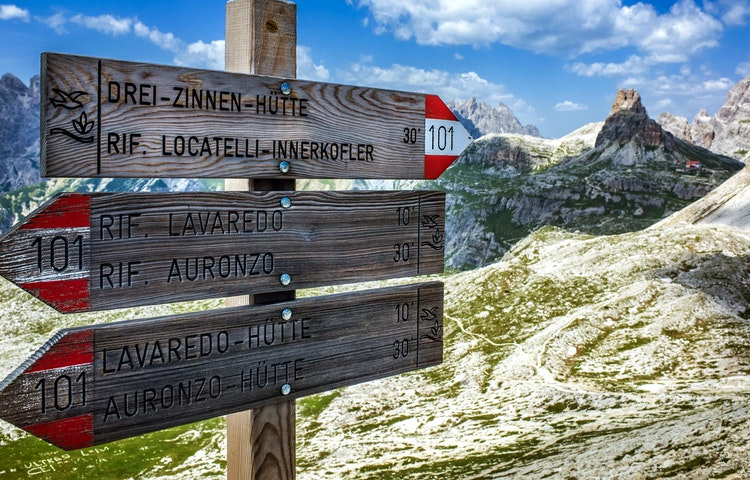 trail - Italy Heart of the Dolomites Hiking