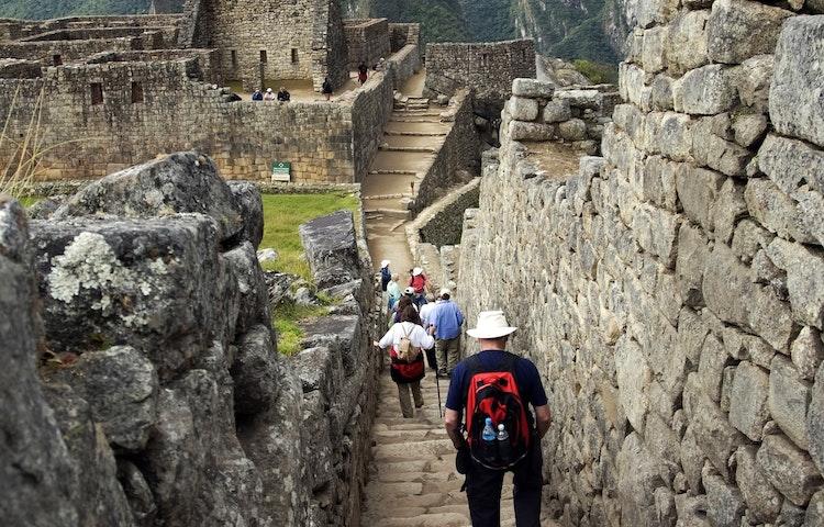 hikers at machu picchu - Peru Cusco and Machu Picchu Trek