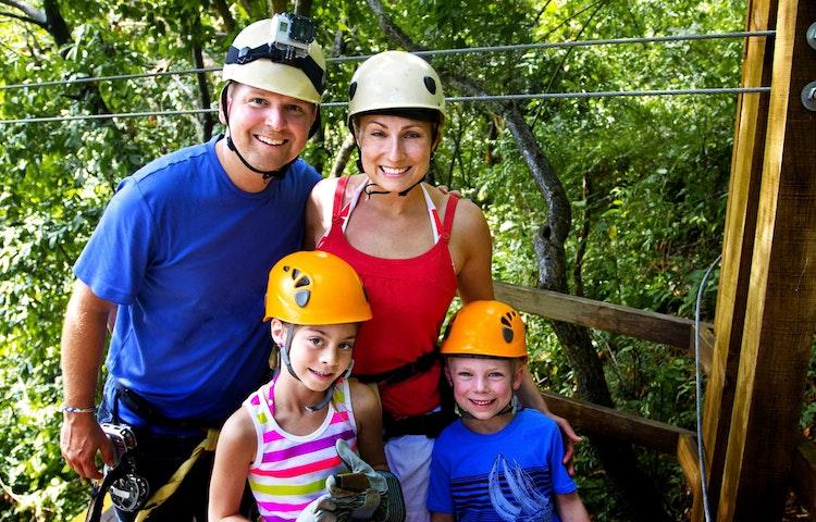 zipline family - Costa Rica Private Family Adventure