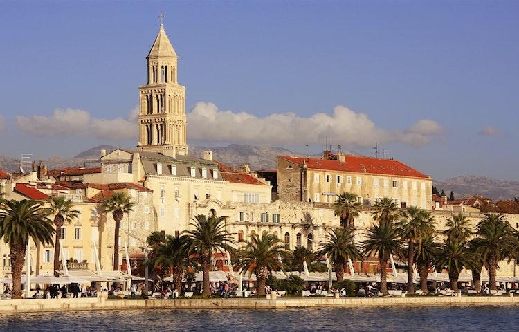 palace - Croatia Hiking & Kayaking Private Adventure