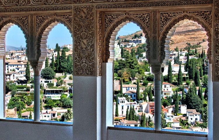 alhambra view - Spain Best of Andalucia Hiking