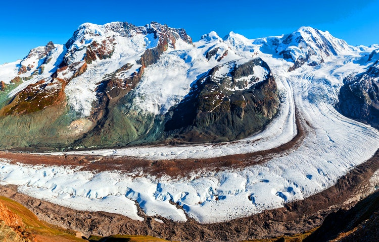 monte rosa - Alps Chamonix & Zermatt Hiking