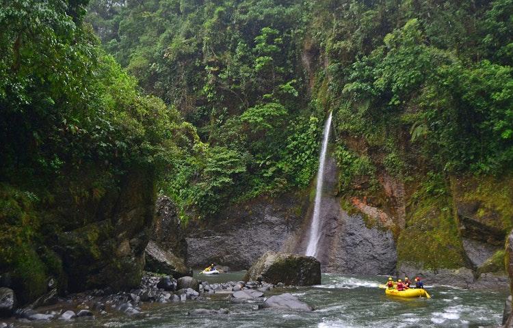 jungle raft