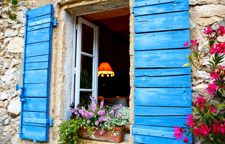 window - France Provence Walking Private Adventure