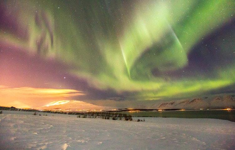 aurora - Iceland Natural Wonders Hiking