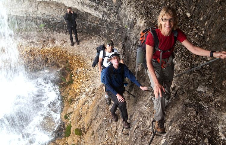 ferrata - Italy Heart of the Dolomites Hiking