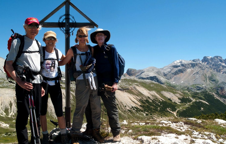 couples - Italy Heart of the Dolomites Hiking