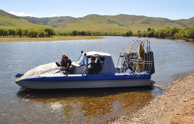 boat - Mongolia Golden Week Private Adventure