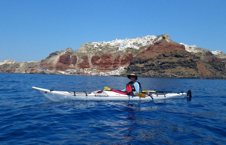 kayak - Greece Naxos & Santorini Private Adventure