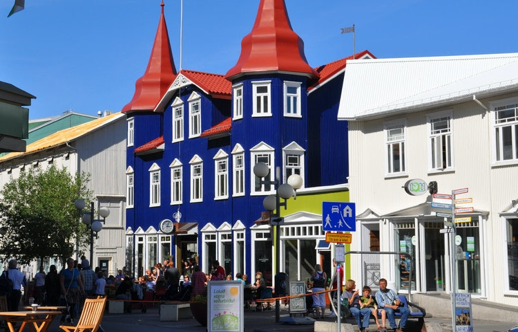 town - Iceland Natural Wonders Hiking