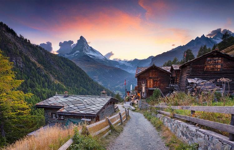 village - Alps Around the Matterhorn Trek