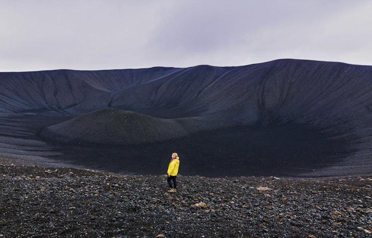 hverfjall - Iceland Natural Wonders Hiking