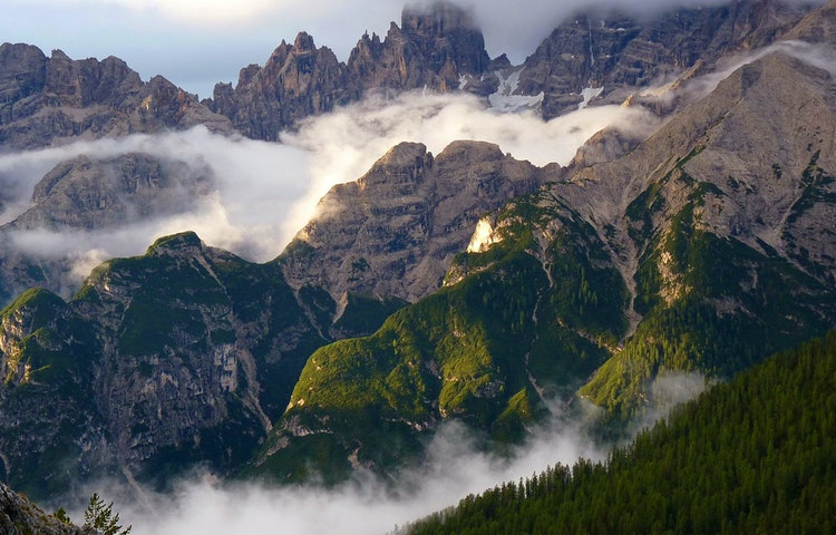 misty - Italy Heart of the Dolomites Hiking
