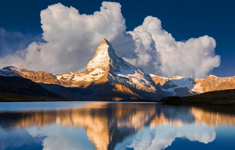 sunrise - Alps Chamonix & Zermatt Hiking