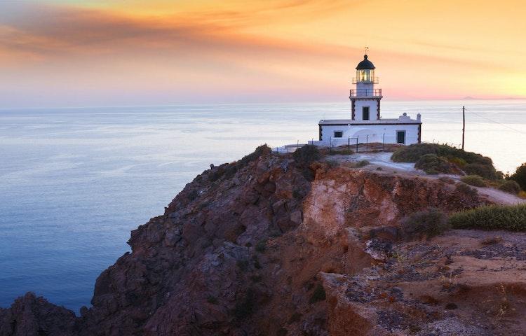 lighthouse - Greece Naxos & Santorini Private Adventure