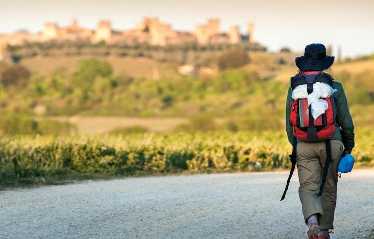 monteriggioni - Italy Tuscany and Cinque Terre Walking