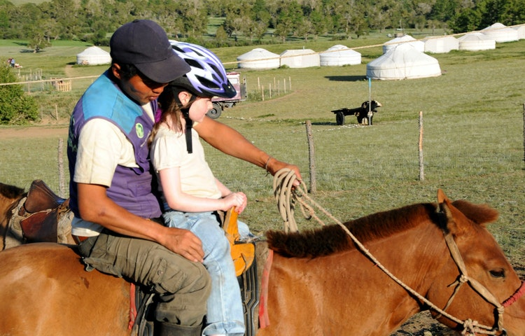 riding horses - Mongolia Golden Week Private Adventure