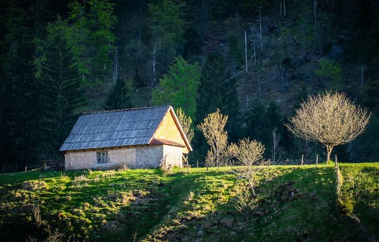 hut - Slovenia Alps Hiking with Laurent Langoisseur