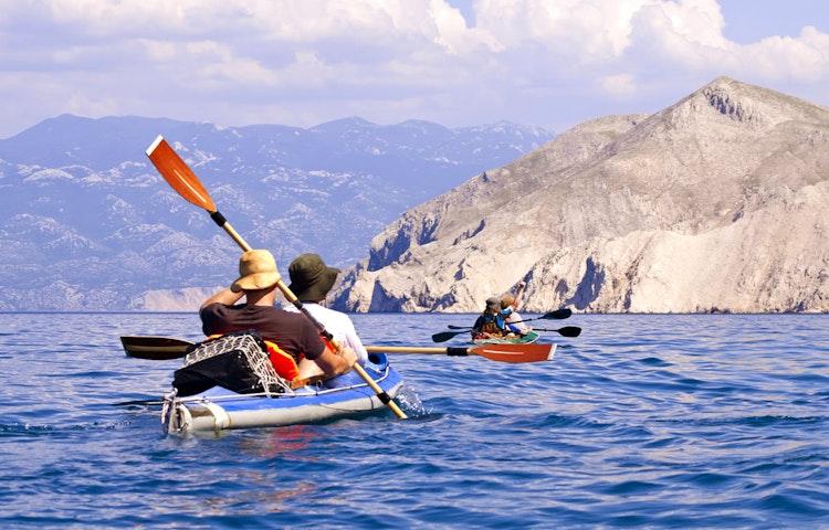 kayakers - Croatia Hiking & Kayaking Private Adventure