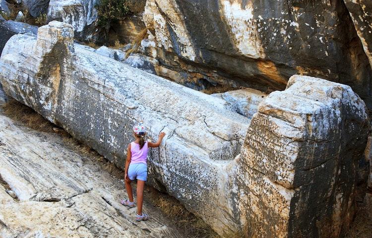 kouros - Greece Naxos & Santorini Private Adventure