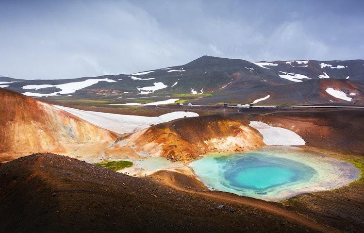 krafla - Iceland Natural Wonders Hiking
