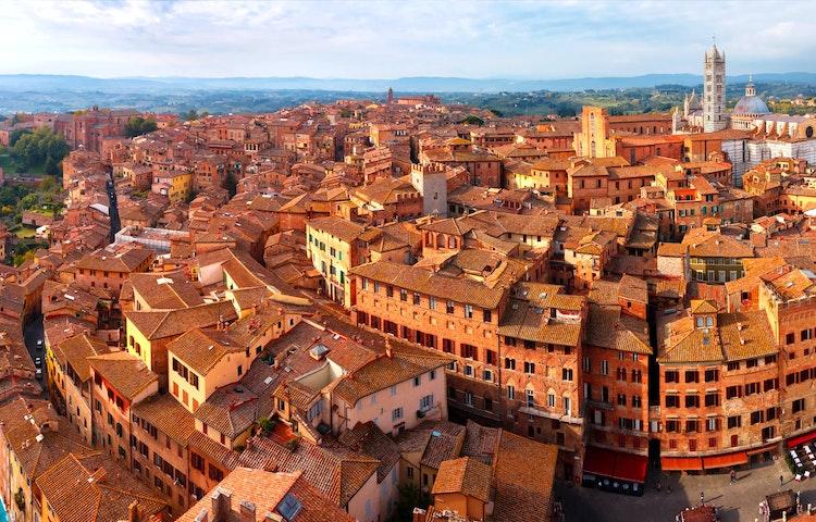 siena - Italy Tuscany and Umbria Walking
