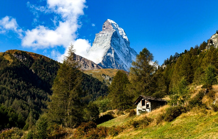 hut - Alps Around the Matterhorn Trek