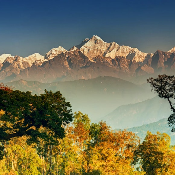India Sikkim: Kanchenjunga Ridge Trek   MT Sobek