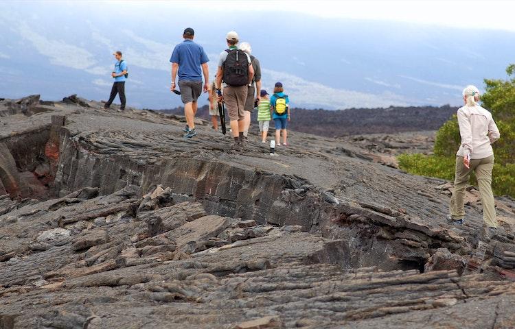 hikers - Ecuador Galapagos Islands Private Adventure