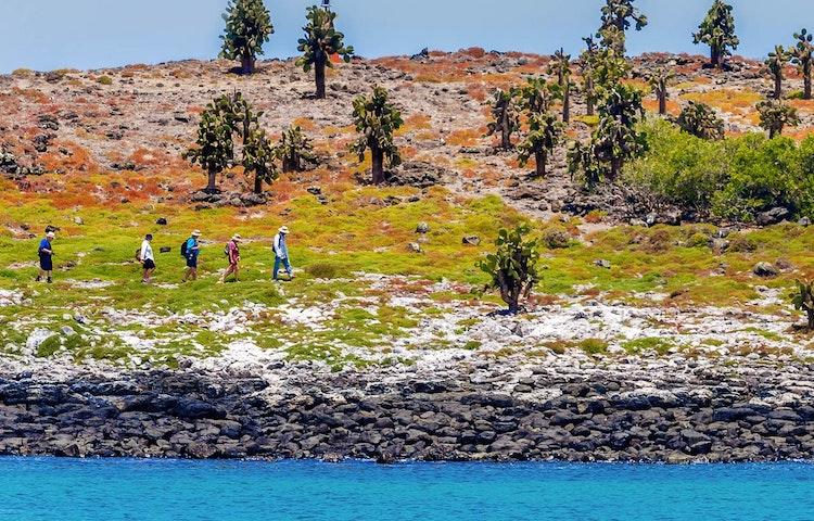 hiking group - Ecuador Galapagos Adventure Cruise on EcoGalaxy