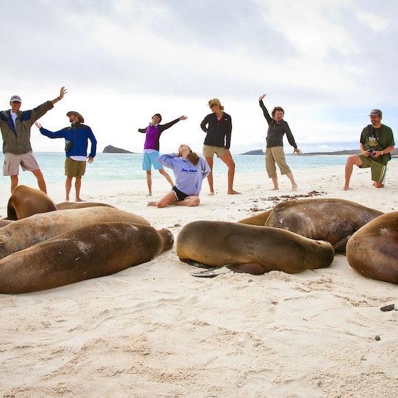 Ecuador Galapagos Adventure Cruise on EcoGalaxy   MT Sobek