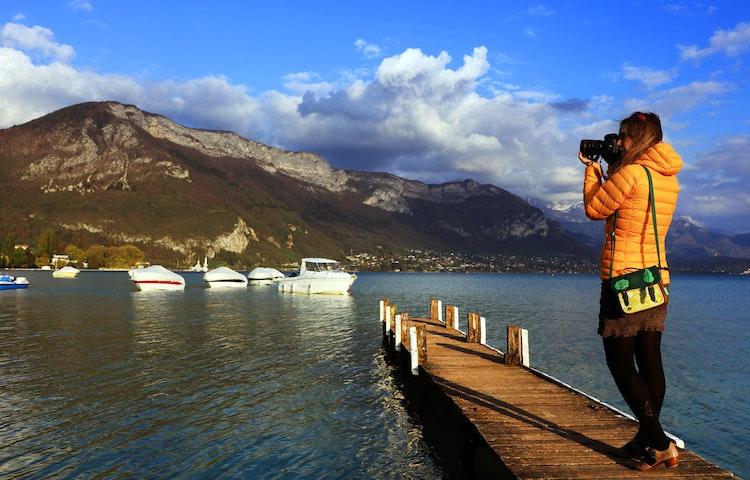 dock - Alps Chamonix to Annecy Hiking