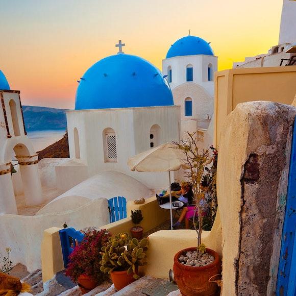 Greece Crete and Santorini Multi-Adventure   MT Sobek