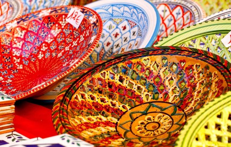 plates - Uzbekistan and Turkmenistan Silk Road Cultural Discovery