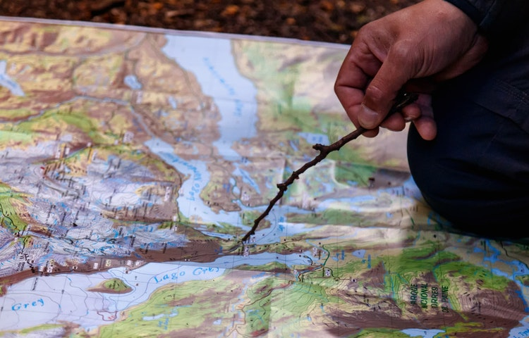 map - Chile & Argentina Ultimate Patagonia Hiking