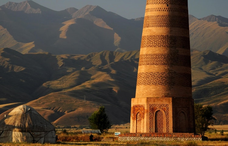 tower - Uzbekistan and Turkmenistan Silk Road Cultural Discovery