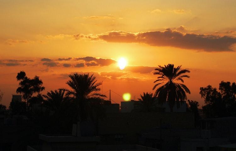 sunset - Iraqi Kurdistan Cultural Discovery