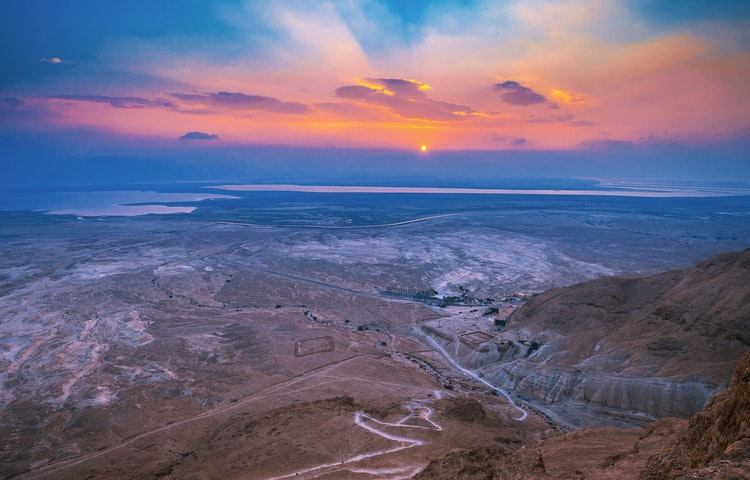 view from masada - Israel Perspectives and Peoples Cultural Discovery