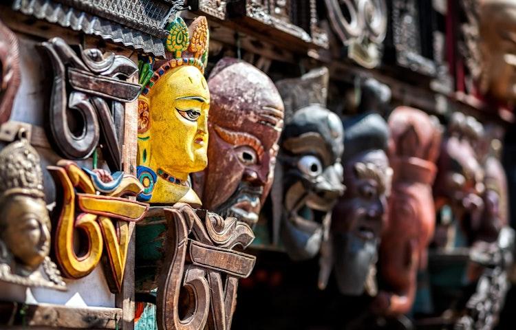 masks - Nepal Ancient Passes Trek