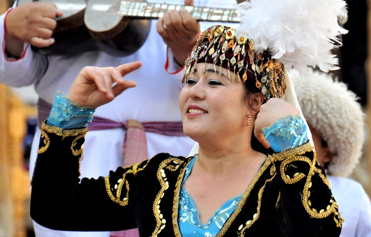 traditional dancer - Uzbekistan and Turkmenistan Silk Road Cultural Discovery