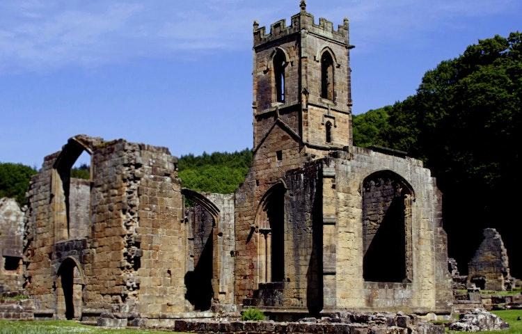 church - England Coast to Coast Hiking